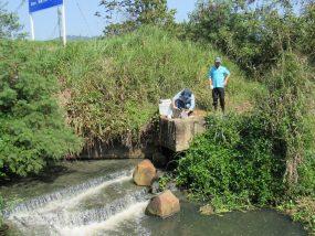 Monitoramento da qualidade do Rio Acaraú em Ubatuba